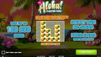 Aloha! slot wins